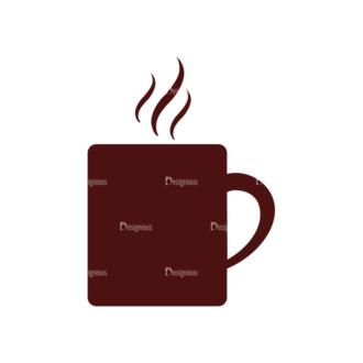 Coffee Vector Elements Set 1 Vector Mug Clip Art - SVG & PNG vector