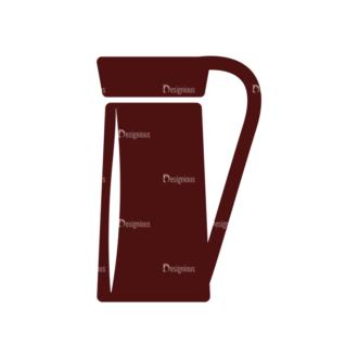 Coffee Vector Elements Set 1 Vector Pitcher Clip Art - SVG & PNG vector
