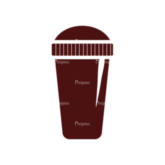 Coffee Vector Elements Set 1 Vector Tumbler Clip Art - SVG & PNG tumbler