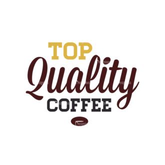 Coffee Vector Text 08 Clip Art - SVG & PNG vector