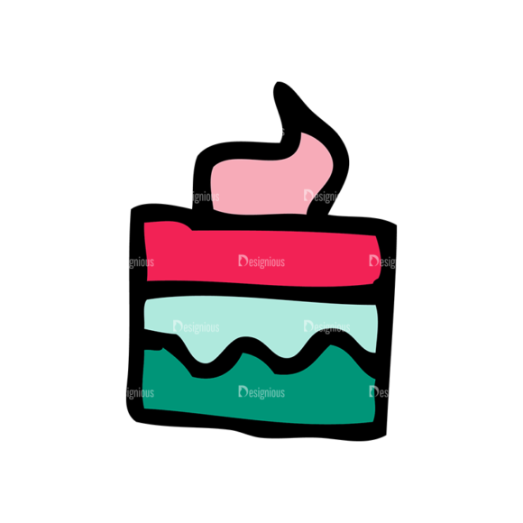 Designtnt Tea Party Vector Set 1 Vector Cupcake 15 Food drinks designtnt tea party vector set 1 vector cupcake 15
