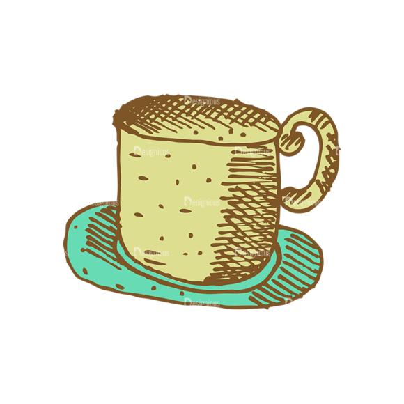 Designtnt Tea Vector Set 1 Vector Cup 03 Food drinks designtnt tea vector set 1 vector cup 03