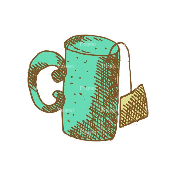 Designtnt Tea Vector Set 1 Vector Cup 04 5