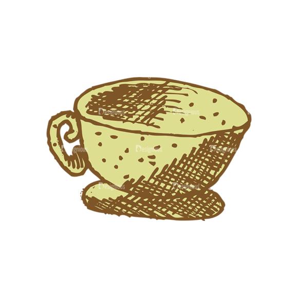 Designtnt Tea Vector Set 1 Vector Cup 06 5