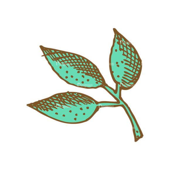 Designtnt Tea Vector Set 1 Vector Leaves Food drinks designtnt tea vector set 1 vector leaves