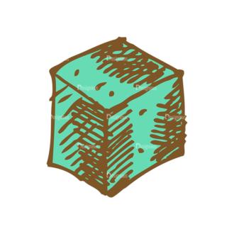 Designtnt Tea Vector Set 1 Vector Sugar Clip Art - SVG & PNG vector