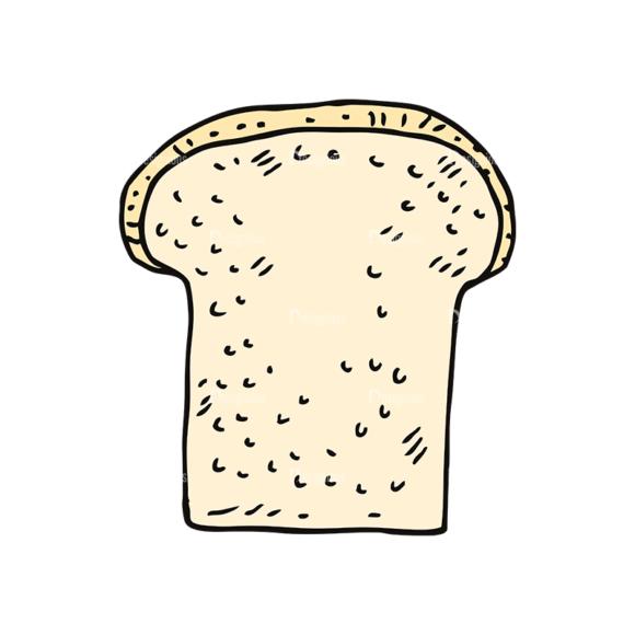 Engraved Bakery Vector Set 1 Vector Bread 06 Food drinks engraved bakery vector set 1 vector bread 06