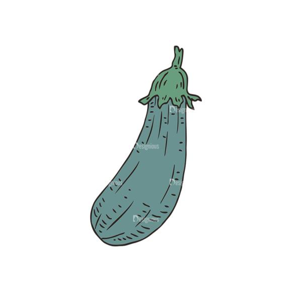 Engraved Green Grocery Vector Set 1 Vector Eggplant Food drinks engraved green grocery vector set 1 vector eggplant