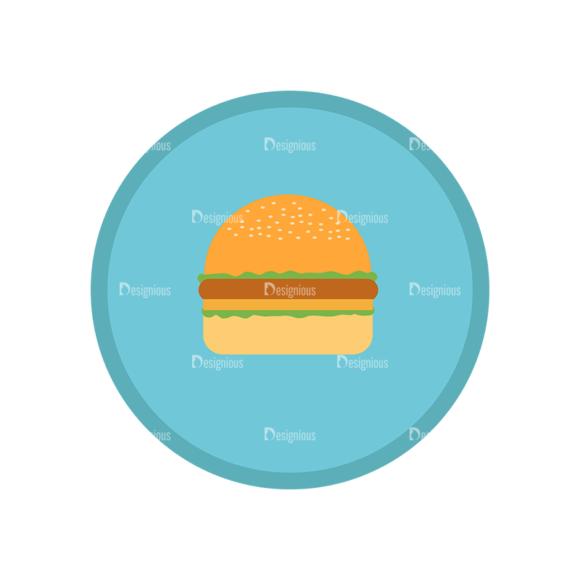 Fast Food Vector Set 1 Vector Burger 10 1