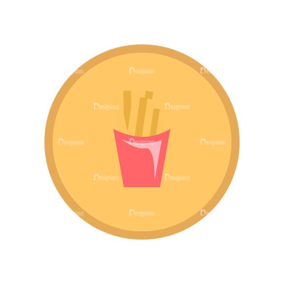 Fast Food Vector Set 1 Vector Fries 1