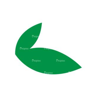 Fast Food Vector Set 3 Vector Leaf Clip Art - SVG & PNG leaf