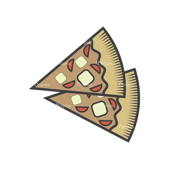Fast Food Vector Set 4 Vector Pizza 5