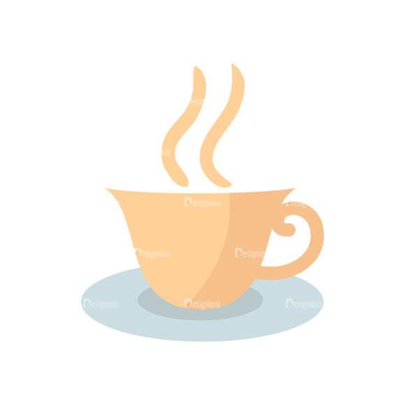 Flat Food Icons Set 5 Vector Coffee 04 Food drinks flat food icons set 5 vector coffee 04