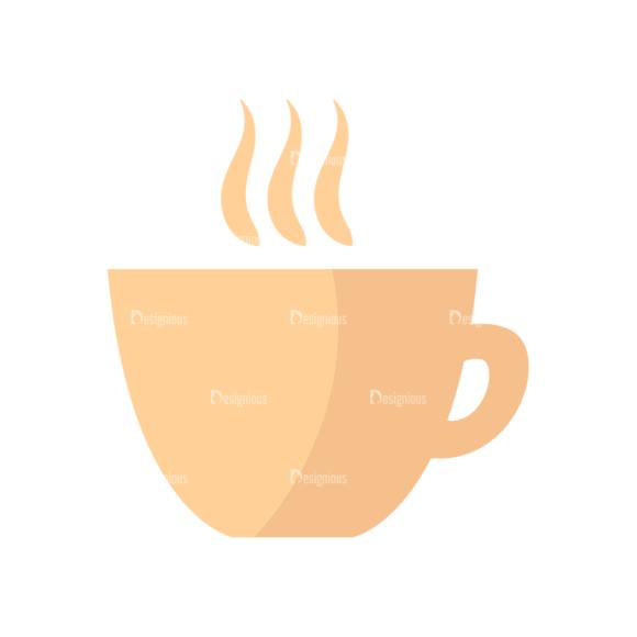 Flat Food Icons Set 5 Vector Coffee 11 1