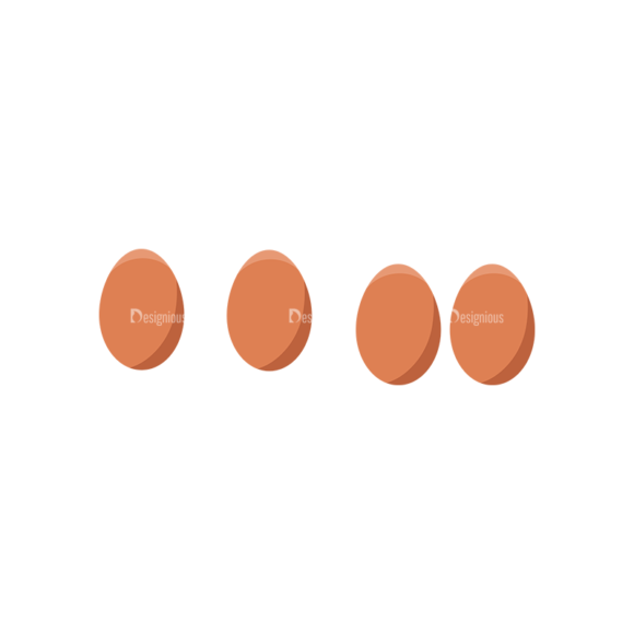 Food And Products Vector Set 7 Vector Eggs 1