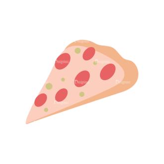 Food Icons Vector Set 2 Vector Pizza Clip Art - SVG & PNG vector