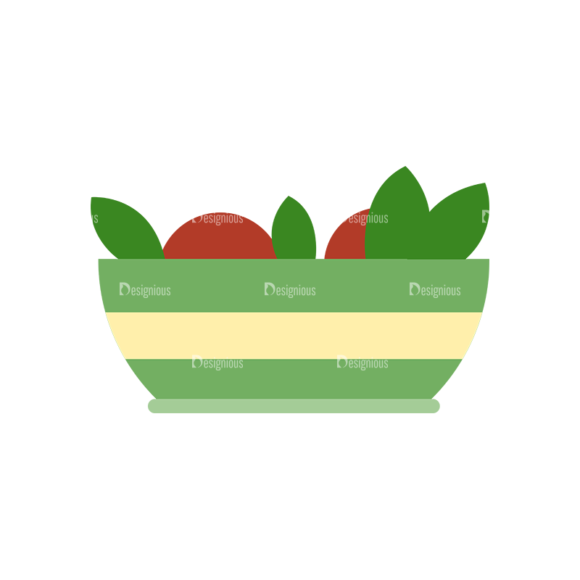 Food Icons Vector Set 3 Vector Fruits 1