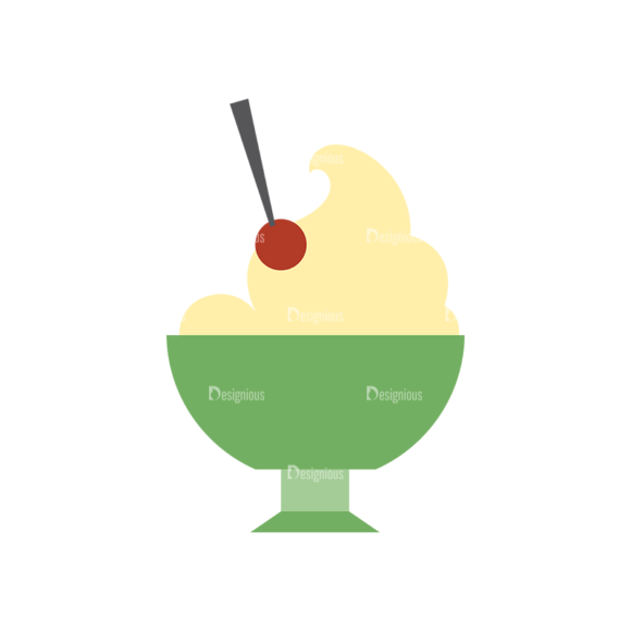 Food Icons Vector Set 3 Vector Ice Cream 5