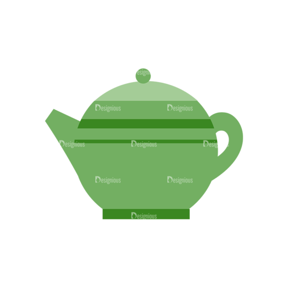 Food Icons Vector Set 3 Vector Kettle 1