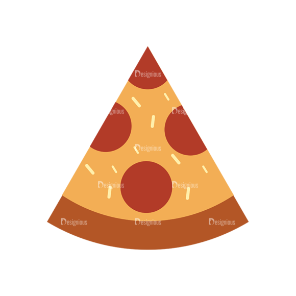 Food Icons Vector Set 3 Vector Pizza 1