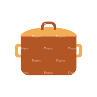 Food Icons Vector Set 3 Vector Pot Clip Art - SVG & PNG vector