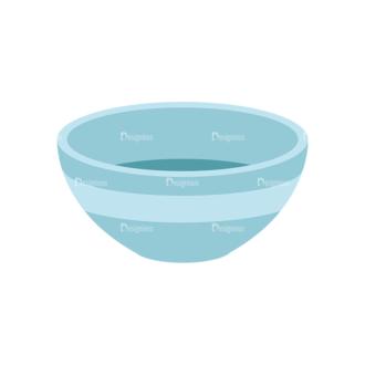 Food Recipe Vector Set 1 Vector Bowl Clip Art - SVG & PNG vector