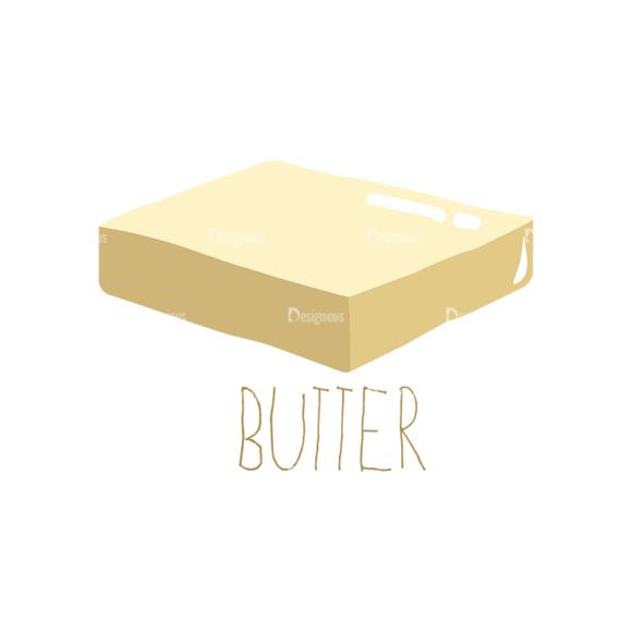 Food Recipe Vector Set 1 Vector Butter 07 1
