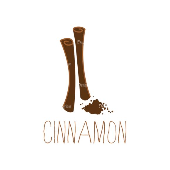 Food Recipe Vector Set 1 Vector Cinnamon 1