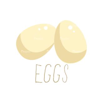 Food Recipe Vector Set 1 Vector Eggs Clip Art - SVG & PNG vector