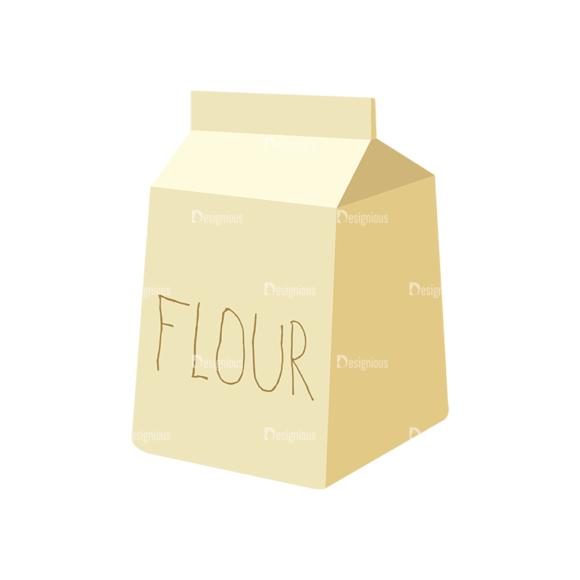 Food Recipe Vector Set 1 Vector Flour 1