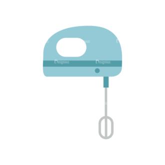 Food Recipe Vector Set 1 Vector Mixer Clip Art - SVG & PNG vector