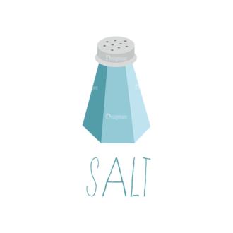 Food Recipe Vector Set 1 Vector Salt Clip Art - SVG & PNG vector
