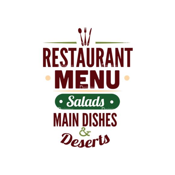 Food Typography Set Vector Text 01 1