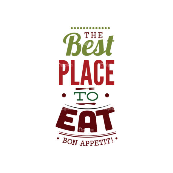 Food Typography Set Vector Text 02 1