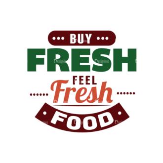 Food Typography Set Vector Text 03 Clip Art - SVG & PNG vector