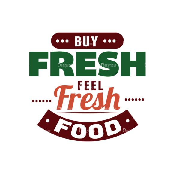 Food Typography Set Vector Text 03 1