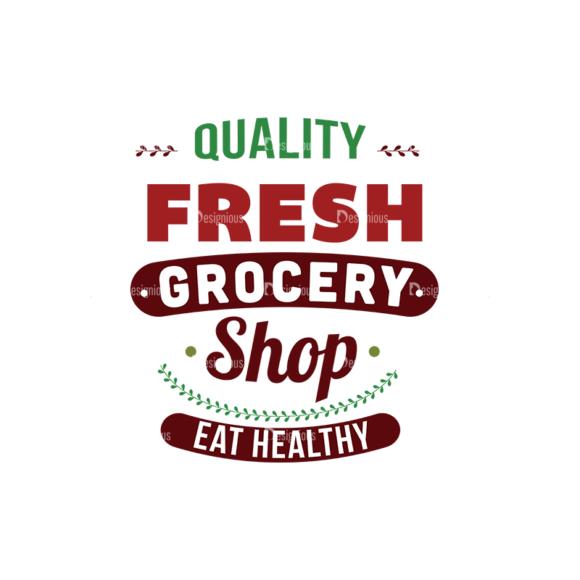 Food Typography Set Vector Text 05 1