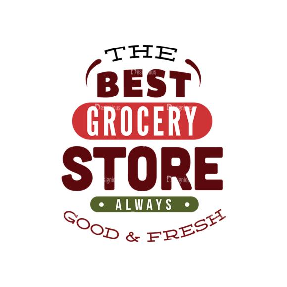 Food Typography Set Vector Text 06 1
