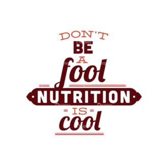 Food Typography Set Vector Text 08 Clip Art - SVG & PNG vector