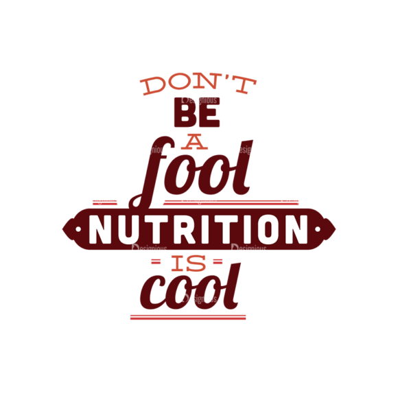 Food Typography Set Vector Text 08 1