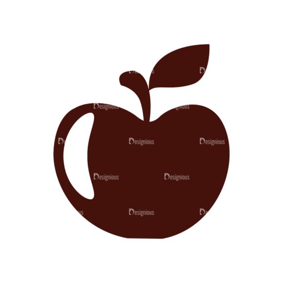 Food Vector Elements Set 1 Vector Apple 1