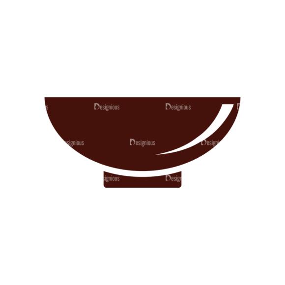 Food Vector Elements Set 1 Vector Bowl 1
