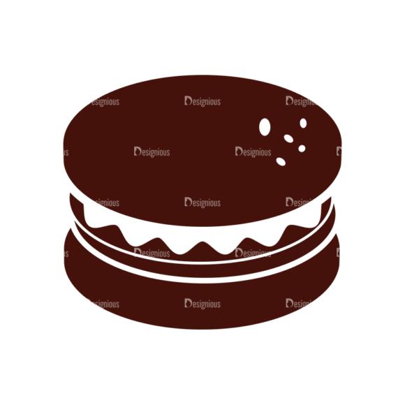 Food Vector Elements Set 1 Vector Burger 1