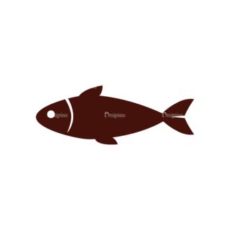 Food Vector Elements Set 1 Vector Fish Clip Art - SVG & PNG vector