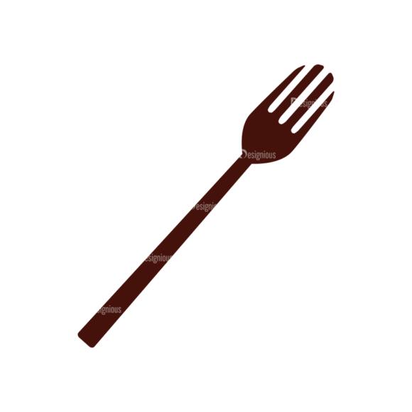 Food Vector Elements Set 1 Vector Fork 1