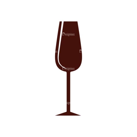 Food Vector Elements Set 1 Vector Wine Glass Clip Art - SVG & PNG glass