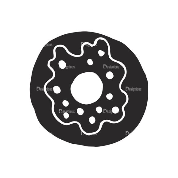 Food Vector Elements Set 2 Vector Donut 1