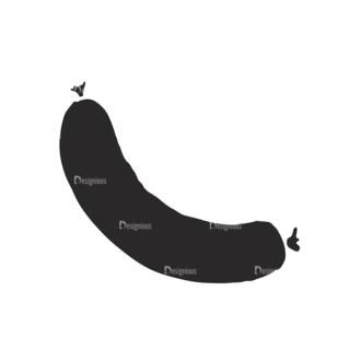 Food Vector Elements Set 2 Vector Sausage 08 Clip Art - SVG & PNG vector