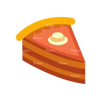 Food Vector Set 2 Vector 1 Cake Clip Art - SVG & PNG vector