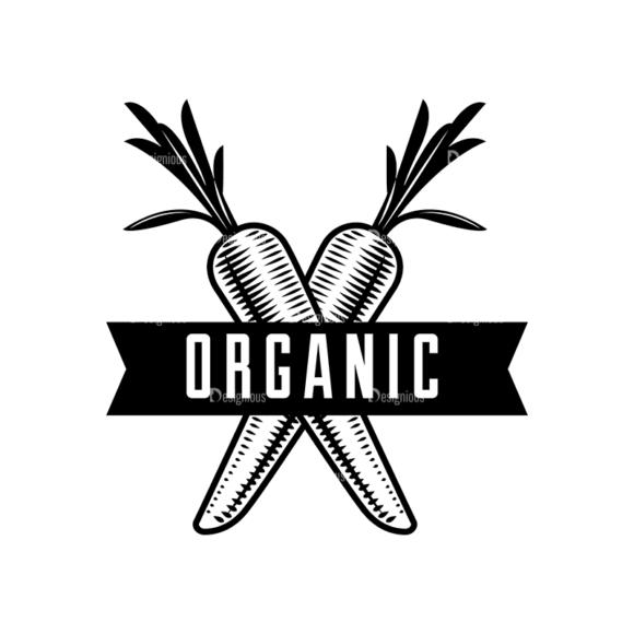 Food Vintage Badges Set 4 Vector Badge 07 Clip Art - SVG & PNG vector